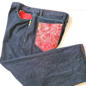 Coogi pocket jeans size 42 x 35 5